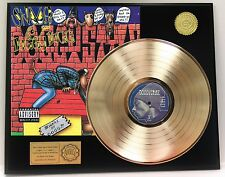 SNOOP DOG DOGGIE STYLE GOLD LP RECORD LIMITED EDITION DISPLAY