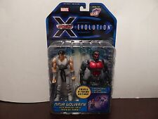 NEW Marvel X-Men Evolution Ninja Wolverine Action Figure ToyBiz Logan 6 inch