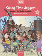 String Time Joggers Cello Music Book/CD