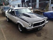 HOLDEN TORANA LH LX 4 DOOR BODY KIT FLARES SCOOP FRONT LIP AND BOBTAIL L34