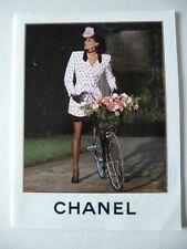 Catalogue catalog Chanel printemps été spring summer 1988 mode fashion Lagerfeld