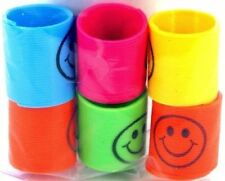12pack Slinky Smiley Mini Springs Pinata Party Bag Fillers Wedding Kids Toy