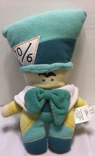 """NWT Disney Store Exclusive Pook-a-Looz Mad Hatter 12"""" Plush Alice Wonderland"""