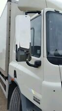 PAIR chrome DAF XF CF TRUCK  MIRROR GUARDS 750mm euro 4 onwards  lorry tipper