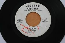 DADDY G & CHURCH ST. FIVE Look Alive/Ten Two And Four 45 R&B Rocker Inst HEAR