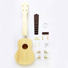 Make Your Own Ukulele DIY Soprano Hawaii Ukulele Kit Support Wholesale
