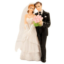 CLASSIC COUPLE WEDDING CAKE TOPPER / DECORATION