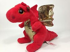 TY Beanie Baby LEGEND the Red Dragon (6 inch) Stuffed Animal Toy