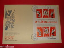 Queen Elizabeth II Silver Jubilee FDC 25 Coronation Solomon Islands 1978 #2