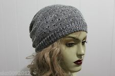 Soft Stylish Women Winter/Spring Long Beanie/Slouch Beanie Super Popular Hat #L3