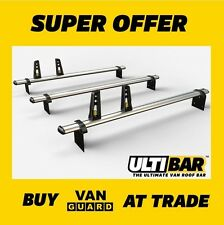 IVECO Daily 2000-2014 ROOF BARS H2 & H3 3x HD ULTI bars VG208