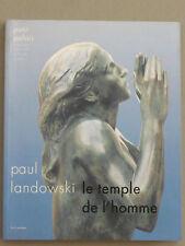 LANDOWSKI Paul LE TEMPLE D'UN HOMME Expo.Paris SCULPTURE FIGURATIF Acad. Julian
