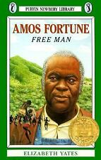 Amos Fortune, Free Man (Newbery Library, Puffin) by Yates, Elizabeth