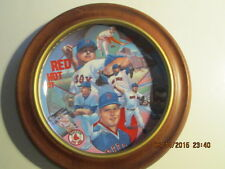 Roger Clemens Collector Plate No. 38 of 5000 in wooden plate holder