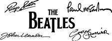 BEATLES Signatures Vinyl Wall Art Decal Sticker 2' Long Lennon McCarthy
