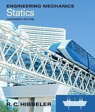 Engineering Mechanics: Statics (13th Edition) by Hibbeler, Russell C.
