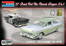 Monogram 1/25 '57 Ford Del Rio Ranch Wagon 2 'n 1 Plastic Model Kit 85-4193