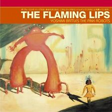 Flaming Lips YOSHIMI BATTLES THE PINK ROBOTS Gatefold NEW RED COLORED VINYL LP