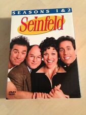 Seinfeld - Seasons 1 & 2 Great Comedy 4 DVD Set 2012 About 13 Hrs Like New!