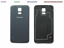Official Genuine Samsung Galaxy S5- MINI Battery Back Cover Case Charcoal Black
