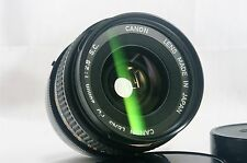 Excellent++++ Canon FD 28mm F/2.8 SC MF Lens With a lens filter. From Japan