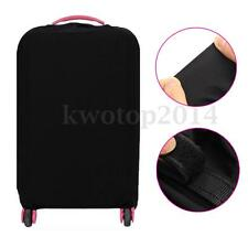 """28"""" Travel Trolley Luggage Protector Elastic Suitcase Cover Bag Dust-Proof Black"""