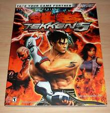Tekken 5 - Official Strategy Guide - Bradygames ( Teken V Strategie Berater )
