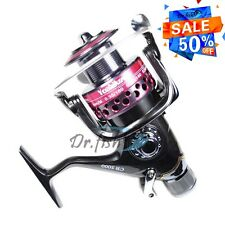 YOSHIKAWA Spinning Reel Carp Surf Fishing Baitfeeder Saltwater Salmon 5000 5.5:1
