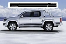 VW Volkswagen AMAROK Stripes Stickers Graphics Decals 1 *(Any Colour)