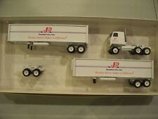 JP FOODSERVICE LIMITED ISSUE 40 FOOT DOUBLES WINROSS TRACTOR TRAILER DIECAST