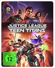 DCU Justice League vs. Teen Titans (Limitierte Steelbook Edi)[Blu-ray](NEU/OVP)