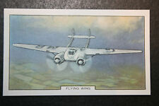 Cunliffe Owen Aircraft   Flying Wing     Vintage Card #  VGC