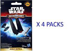 STAR Wars Micro Machines Gold Series 4 x 4 confezioni * Nuovissimo e sigillato *