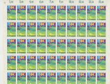 (SH5) 1974 WEST GERMANY  DEUTSCHE BUNDESPOST FULL SHEETS OF STAMPS SG 1704