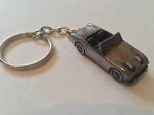 "Austin Healey ""Frog Eye Sprite""  ref16 3D split-ring keyring FULL CAR"