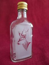 Glass Bottle / Flask with Hunting Fishing Design Idea For the Gift Roe Deer 1
