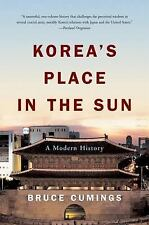 Korea's Place in the Sun : A Modern History by Bruce Cumings (2005,...