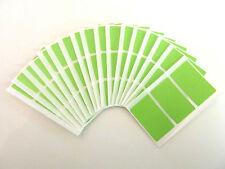 48x28mm Rectangulo Vinilo Plástico Código De Color Pegatinas Etiquetas Adhesivas