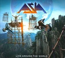 ASIA - LIVE AROUND THE WORLD 2 CD Wetton Palmer Steve Howe Yes Heat Of Moment