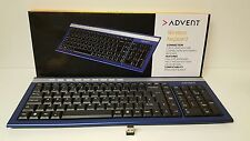 Advent Wireless Keyboard  (AKBWLBL15)  With Nano Receiver Vista/7/8//10,MAC  OSX