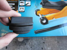 BMW TROLLEY JACK ADAPTER HALFORDS low profile rubber pad block jacking pad tool