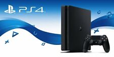 2TB Sony PlayStation 4 PS4 Slim - Custom HDD storage - Faster options available