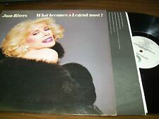 Joan Rivers-What Becomes A Semi-Legend Most?-LP-Geffen-GHS 4007-OG Sleeve