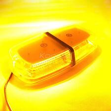 New 72 SMD LED Car Emergency Beacon Light Bar Strobe Flashing Warning Lamp Amber