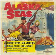 ALASKA SEAS Movie POSTER 27x40 Robert Ryan Jan Sterling Brian Keith Gene Barry