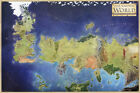 Game of Thrones The known world map Poster high quality Canvas Print 24x36inch