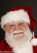 SANTA Anciano/Mujer Mayor Gafas Lentes Disfraz De Navidad