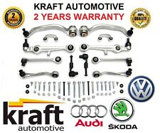 ^ KRAFT SUSPENSION CONTROL ARMS KIT Audi A4 A6 VW Passat B5 C5 8D Skoda SUPERB