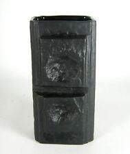 Rosenthal porcelaine vase Martin Freyer design porcelaine noire bisquitporzellan