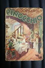 LE AVVENTURE DI PINOCCHIO - Carlo Collodi ed. Lucchi 1954 - GIAN DAULI